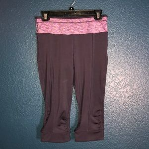 PrAna Plum Cropped Leggings - Size Small